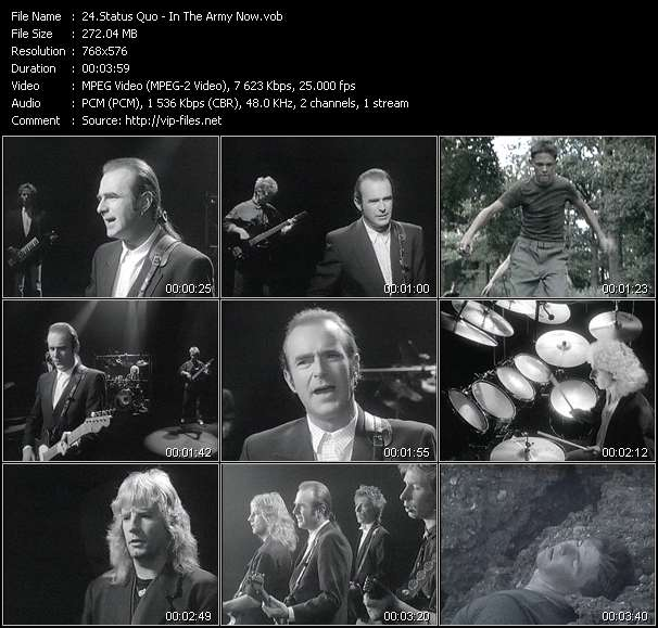 Status Quo video screenshot