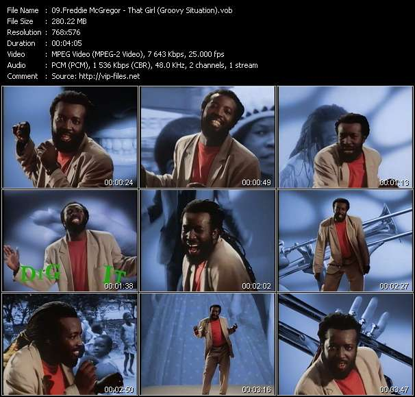 Freddie McGregor video screenshot