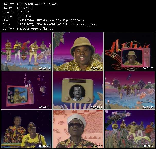 Bhundu Boys video screenshot