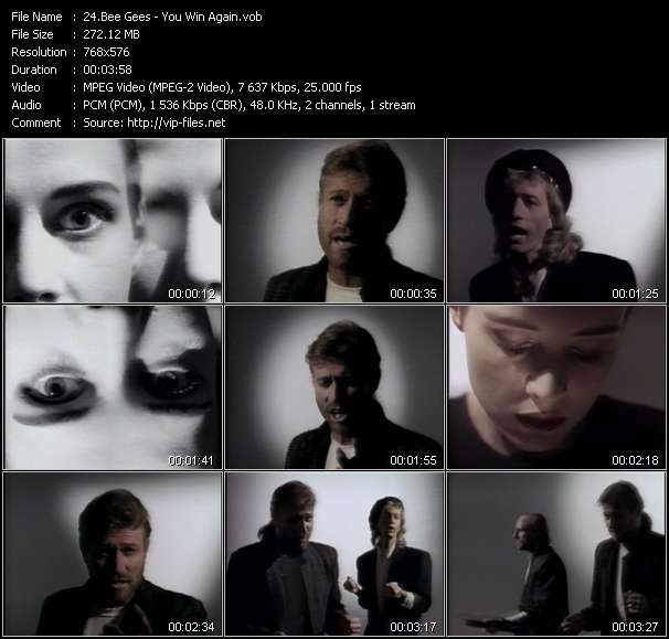 Bee Gees video screenshot