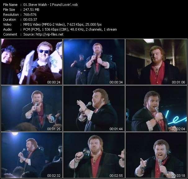 Steve Walsh video screenshot