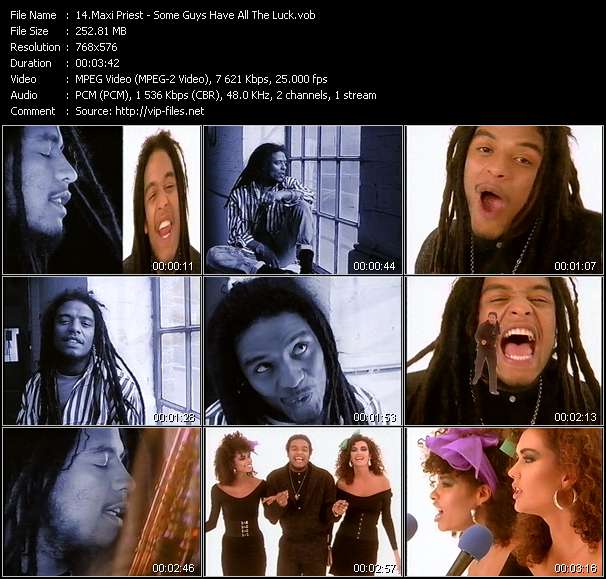 Maxi Priest video screenshot