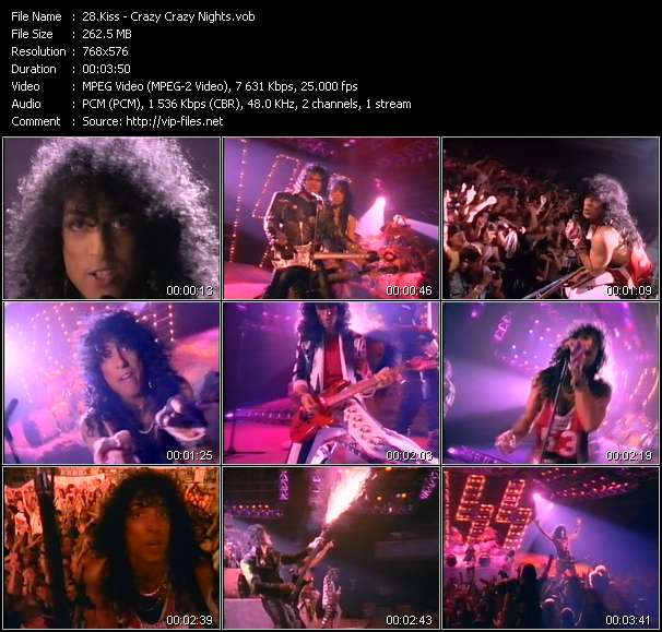 Kiss video screenshot