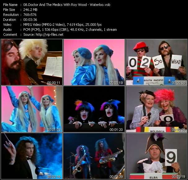 Doctor And The Medics With Roy Wood video screenshot