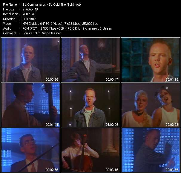 Communards video screenshot