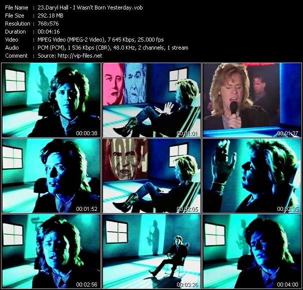Daryl Hall video screenshot