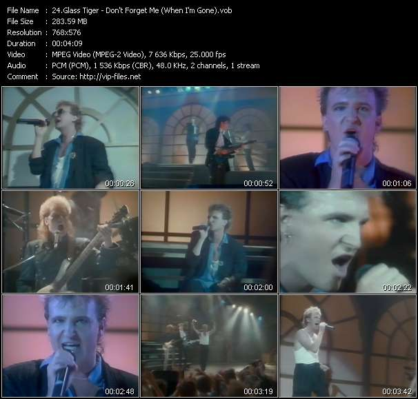 Glass Tiger video screenshot