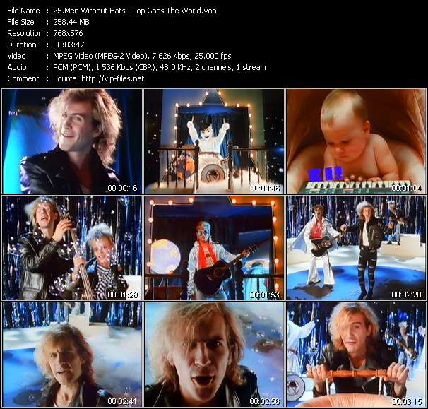 Men Without Hats video screenshot