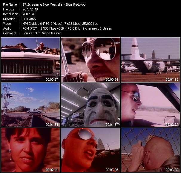 Screaming Blue Messiahs video screenshot