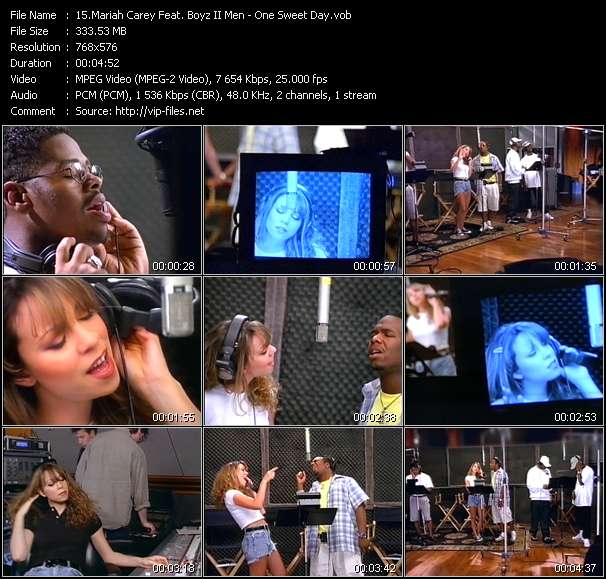 Mariah Carey Feat. Boyz II Men video screenshot