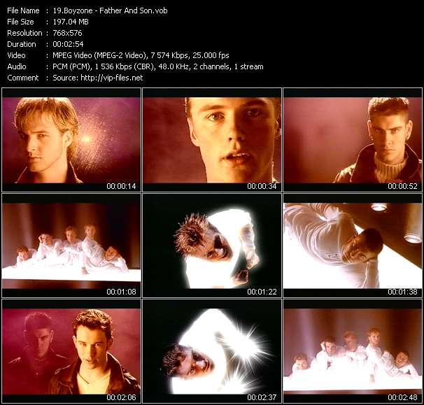 Boyzone video screenshot