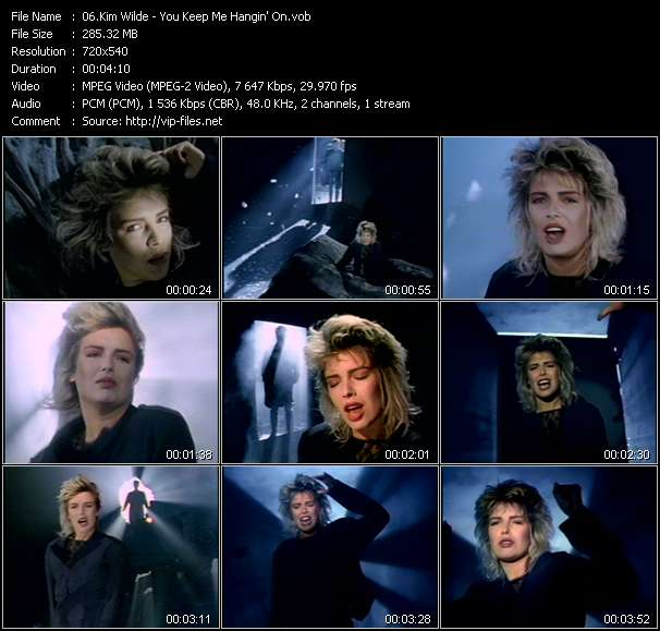 Kim Wilde video screenshot