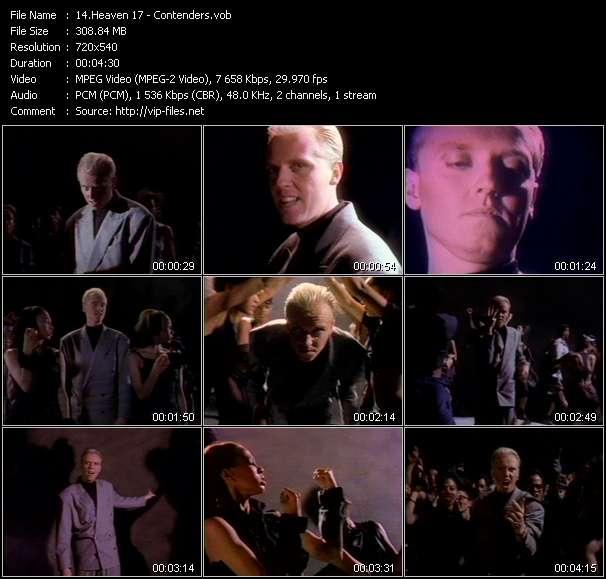 Heaven 17 video screenshot