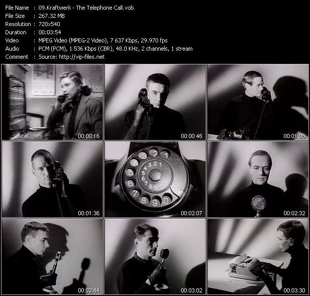 Kraftwerk video screenshot