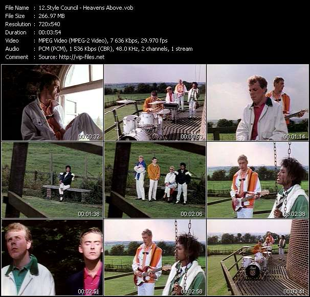 Style Council video screenshot