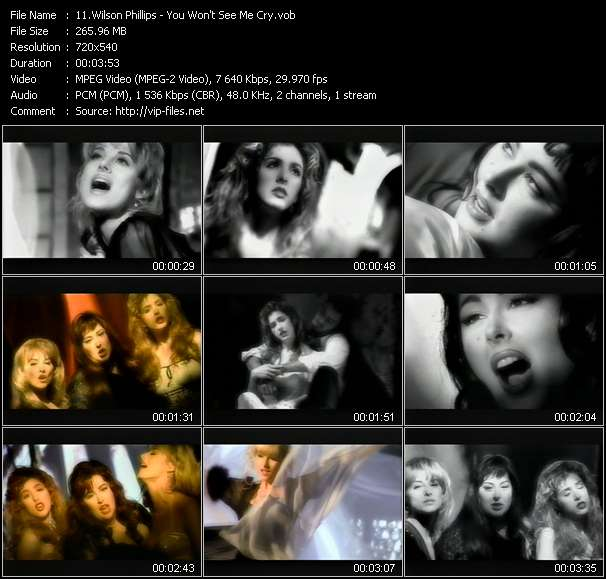 Wilson Phillips video screenshot
