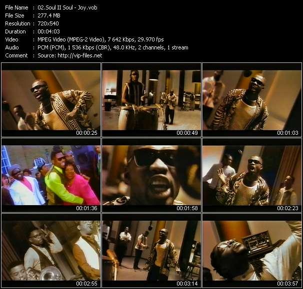Soul II Soul video screenshot