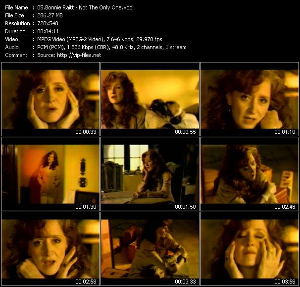 Bonnie Raitt video screenshot