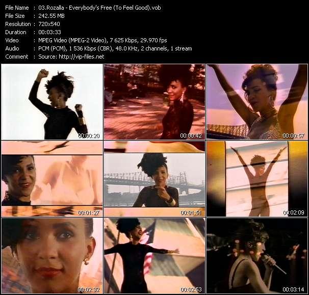 Rozalla video screenshot