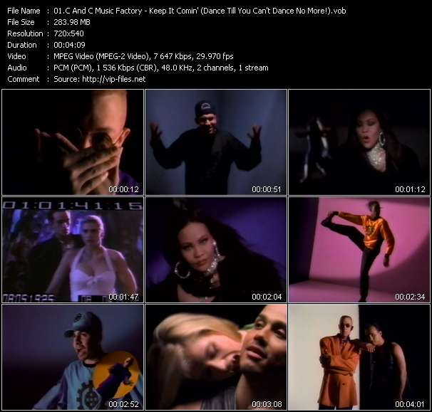 C And C Music Factory Feat. Q-Unique And Deborah Cooper video screenshot