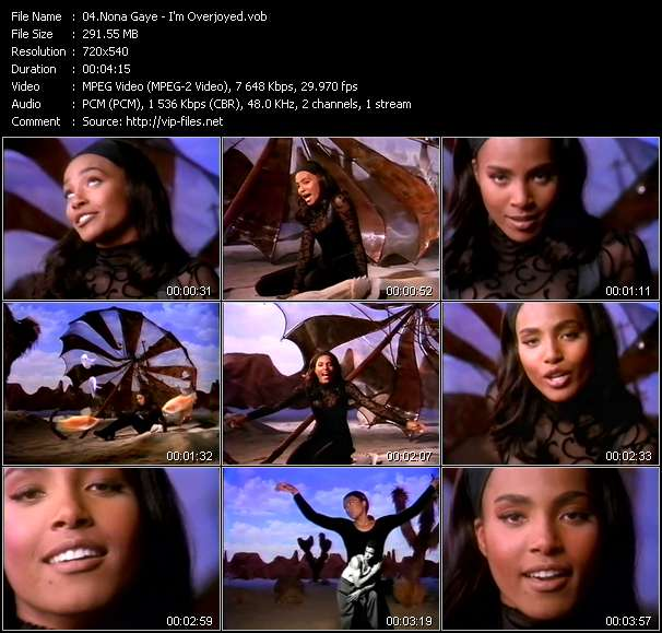 Nona Gaye video screenshot