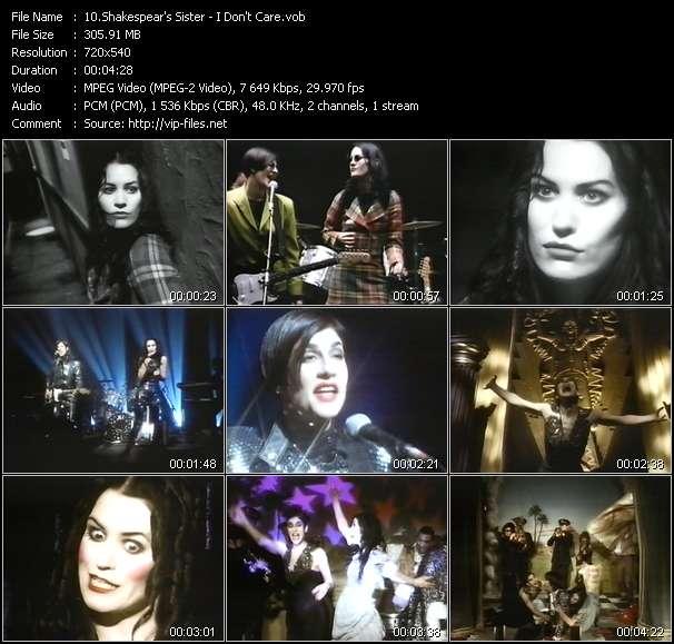 Shakespear's Sister video screenshot