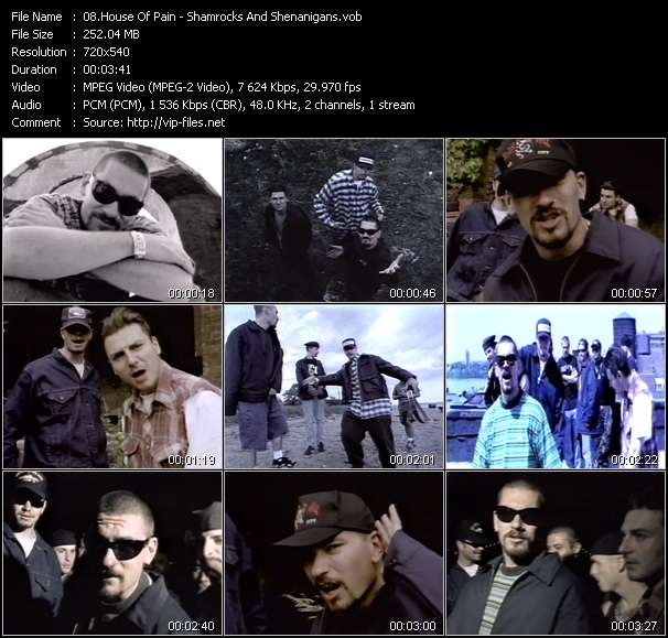 House Of Pain video screenshot