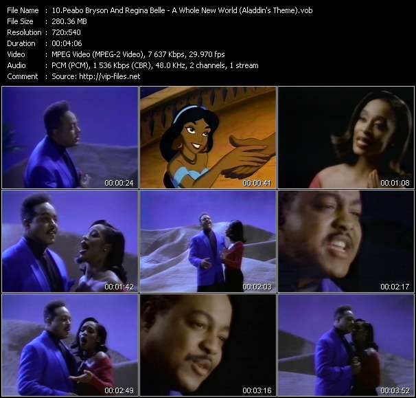 Peabo Bryson And Regina Belle video screenshot
