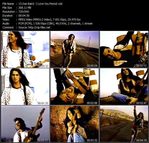 Dan Baird video screenshot