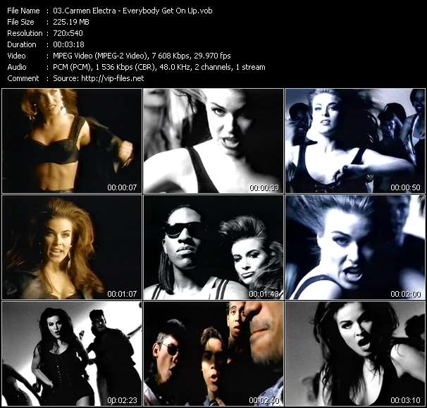 Carmen Electra video screenshot