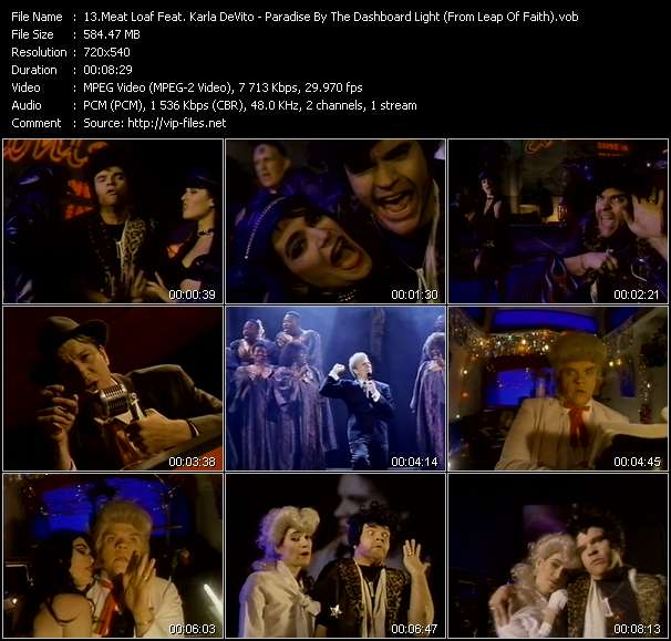 Meat Loaf Feat. Karla DeVito video screenshot