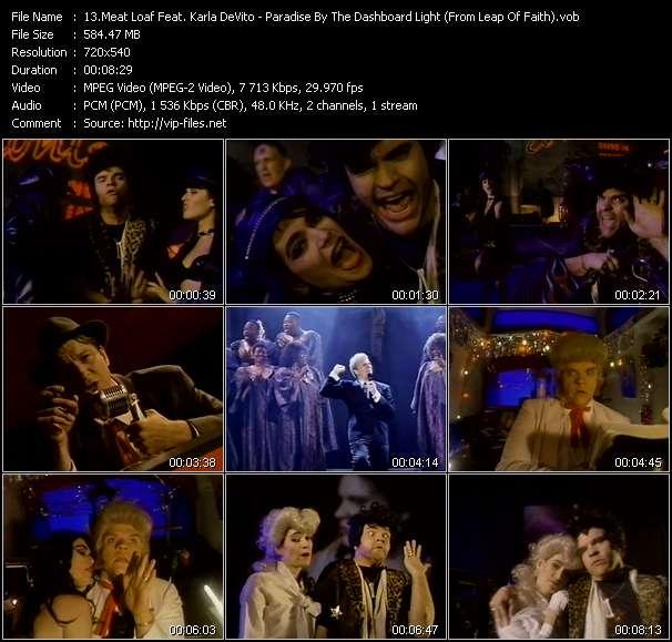 Meat Loaf Feat. Karla DeVito video screenshot