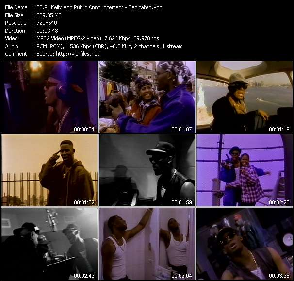R. Kelly And Public Announcement video screenshot