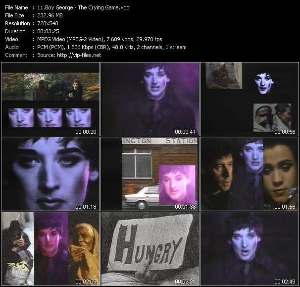 Boy George video screenshot