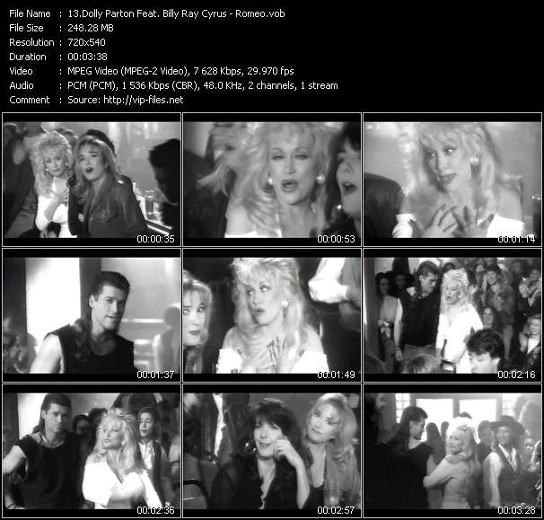 Dolly Parton Feat. Billy Ray Cyrus video screenshot