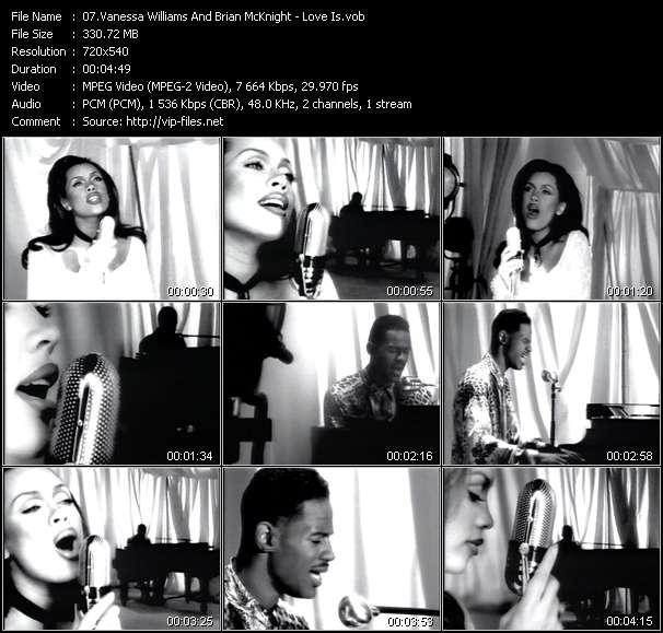 Vanessa Williams And Brian McKnight video screenshot