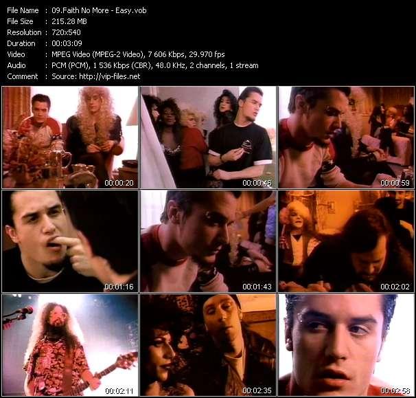 Faith No More video screenshot
