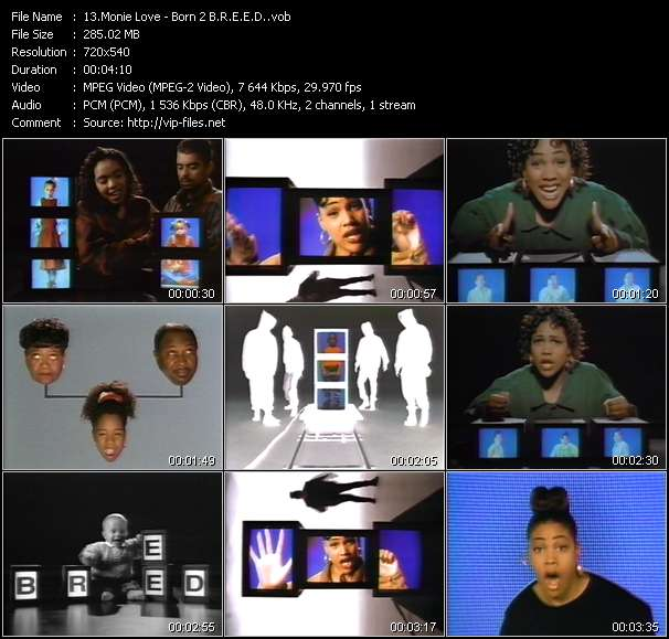 Monie Love video screenshot