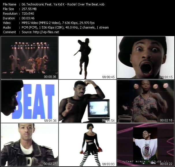 Technotronic Feat. Ya Kid K video screenshot