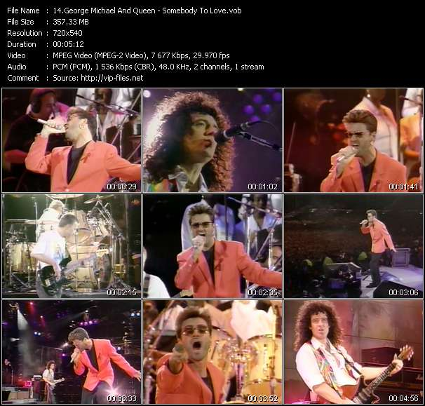 George Michael And Queen video screenshot