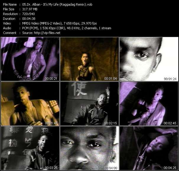 Dr. Alban video screenshot