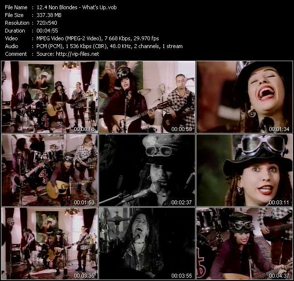 4 Non Blondes video screenshot