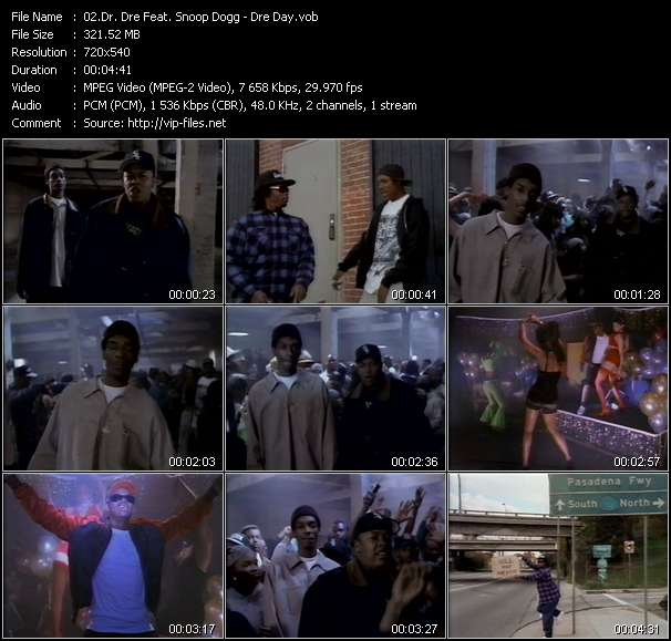 Dr. Dre Feat. Snoop Dogg video screenshot