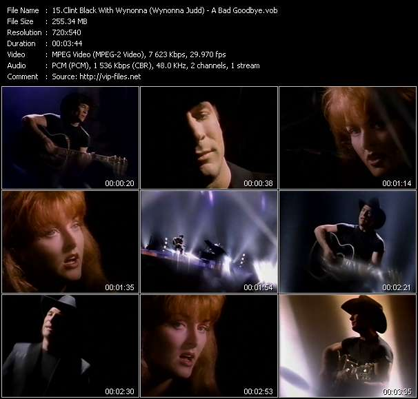 Clint Black With Wynonna (Wynonna Judd) video screenshot