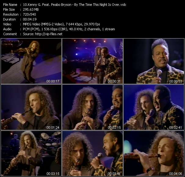 Kenny G. Feat. Peabo Bryson video screenshot