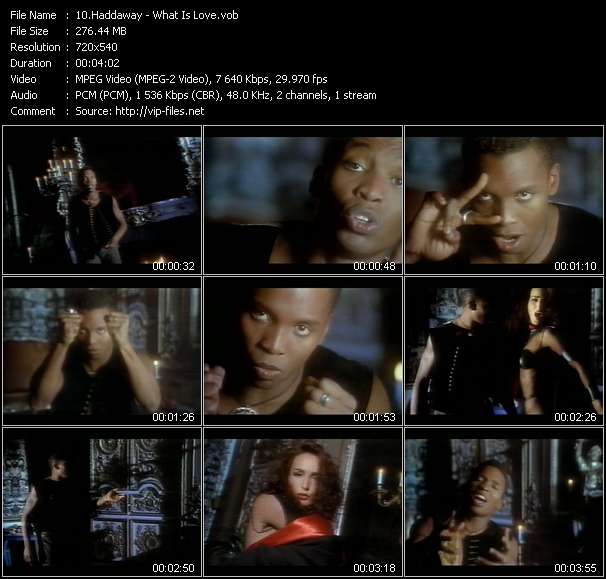 Haddaway video screenshot