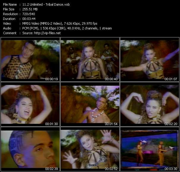 2 Unlimited video screenshot
