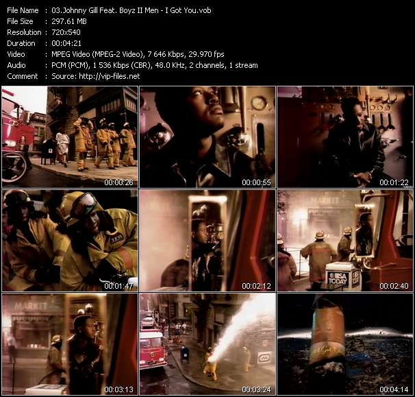 Johnny Gill Feat. Boyz II Men video screenshot