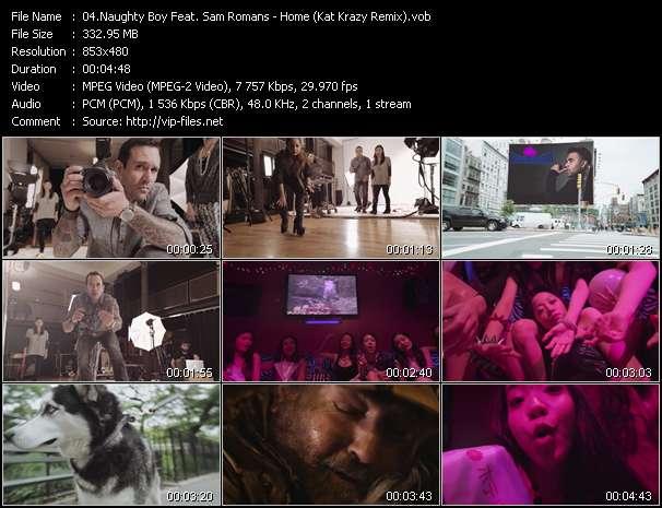 video Home (Kat Krazy Remix) screen