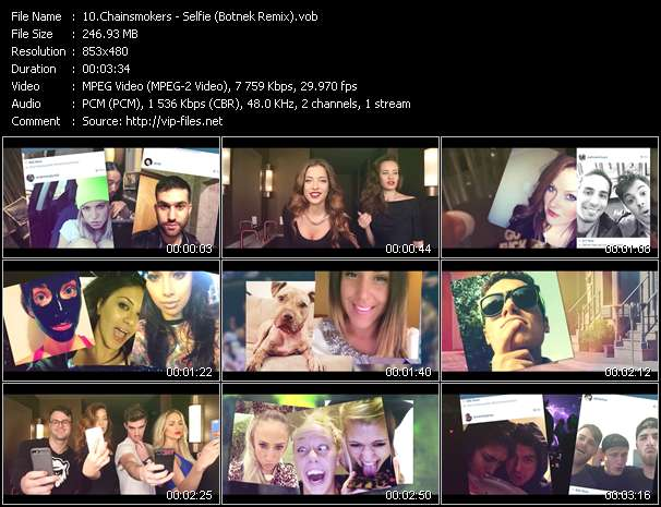 video Selfie (Botnek Remix) screen